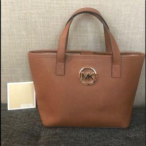 Michaels Kors Satchel Bag w/ care card Leather